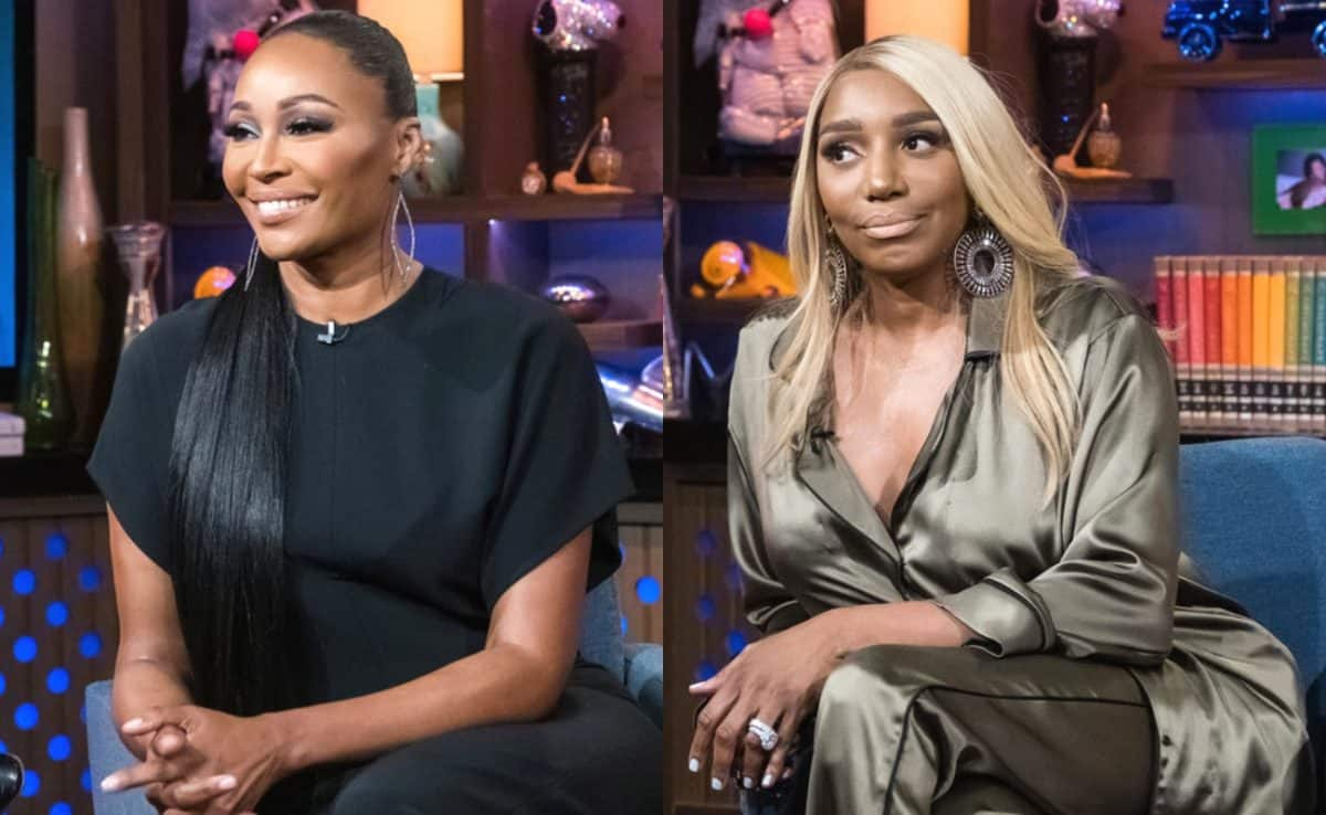 "RHOA's Cynthia Bailey Tells Nene Leakes to ""Get Over It!"" Addresses Nene's Claims of Betrayal Over Kenya Moore"