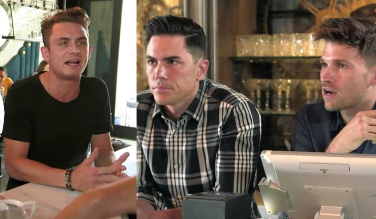 Vanderpump Rules Recap: James Kennedy Lashes Out at Tom and Tom for Disinviting Him from Boys' Trip