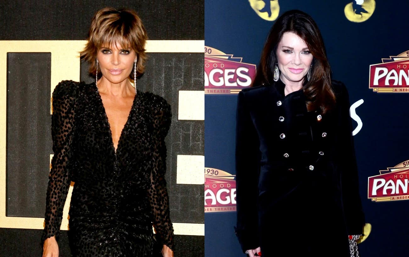 "PHOTO: RHOBH's Lisa Rinna Throws Shade at Lisa Vanderpump With Crown T-Shirt Photo, Says Dissing Others is Her ""Job"" and Reveals She's Working on Her Own Line of Rose"
