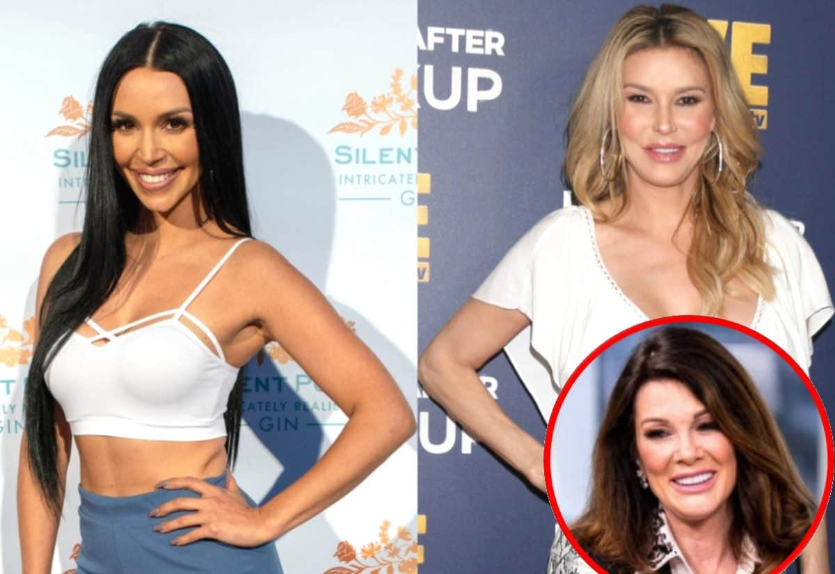 Brandi Glanville Denies Hanging Out With Scheana Marie And Calls Her Out For Talking Sh*t About Lisa Vanderpump, How Did The Vanderpump Rules Star Respond?