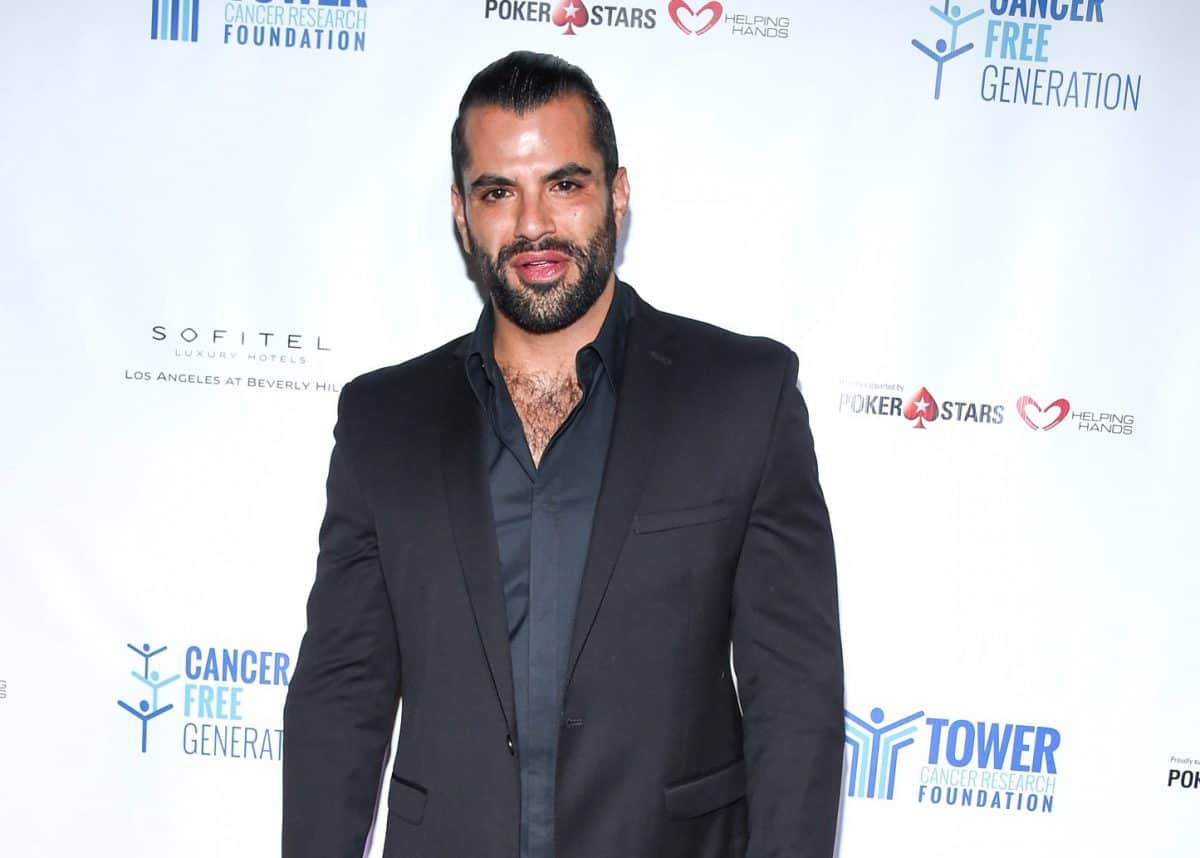 Shahs of Sunset StarShervin Roohparvar Sues Woman For Extorting Him Over False Date Rape Drug Claims
