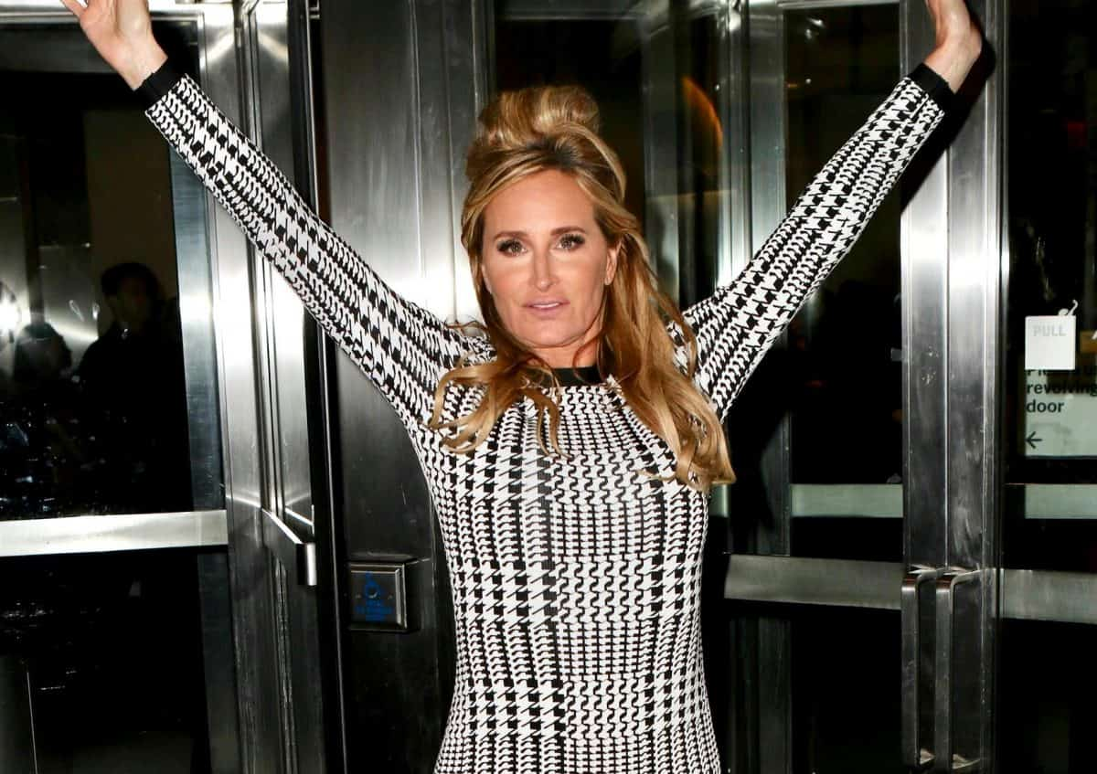 RHONY's Sonja Morgan Caught 'Drunk Out Of Her Mind' During NYC Event