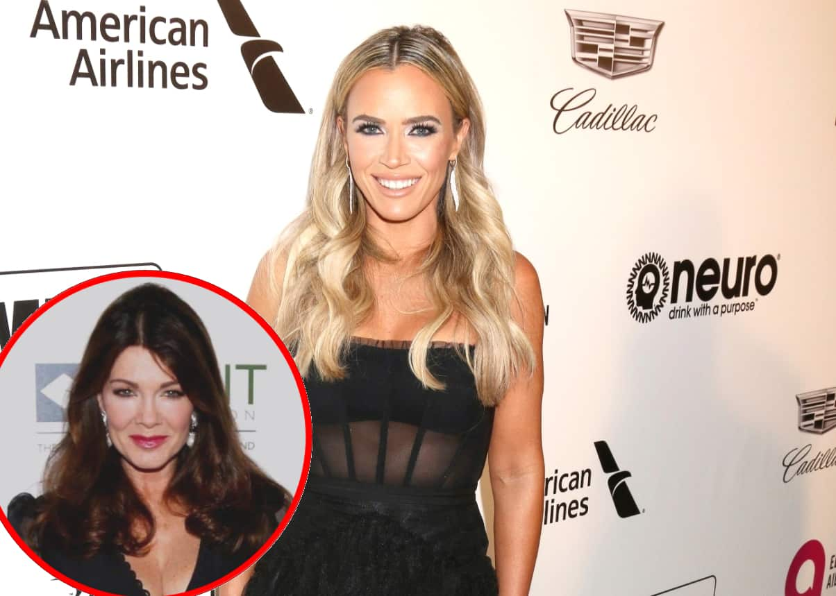 "RHOBH's Teddi Mellencamp Says Lisa Vanderpump Is ""Enjoying"" Seeing Co-Stars Get Threats from Fans"