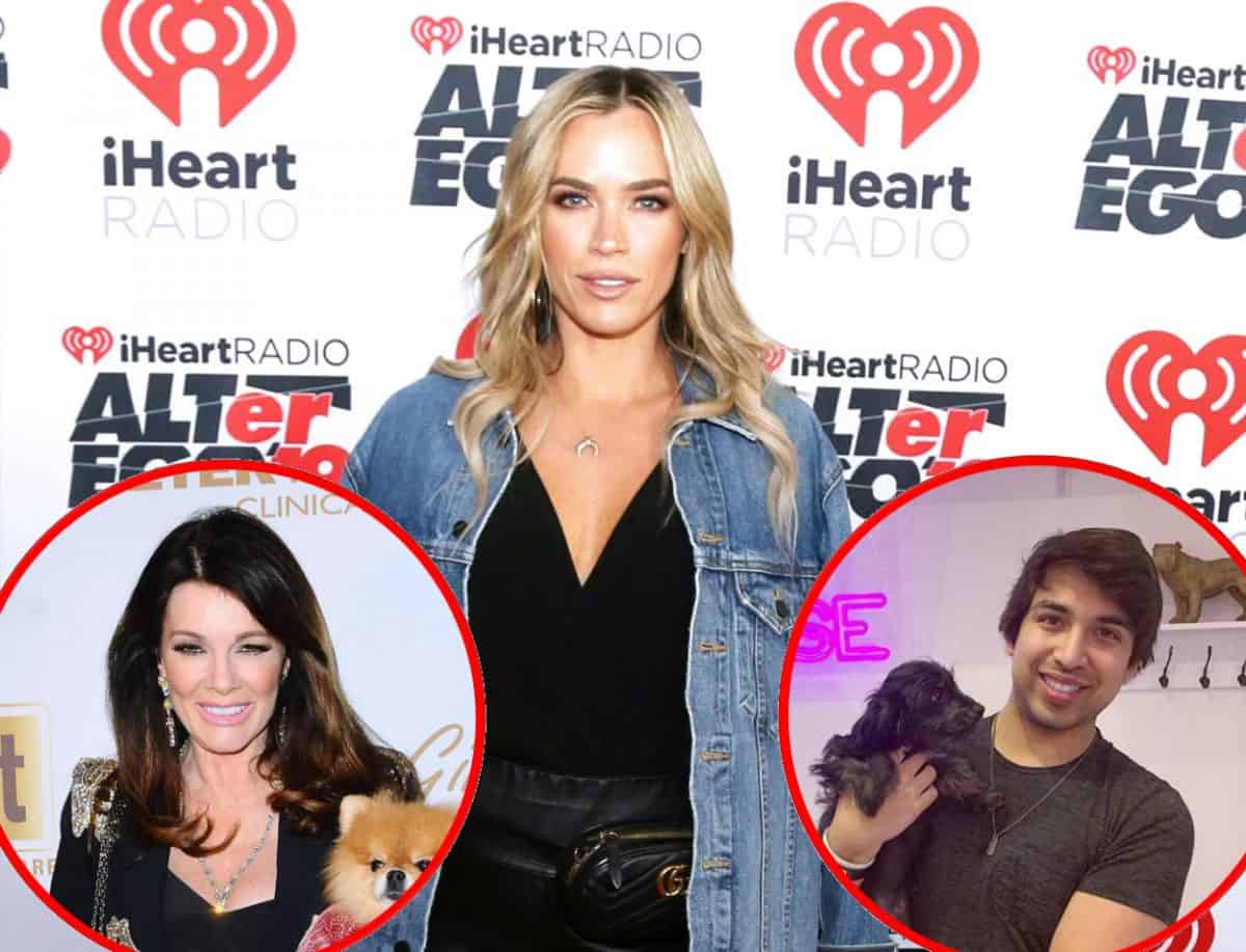 RHOBH's Teddi Mellencamp Releases New Text Message and Accuses John Blizzard of Lying for Lisa Vanderpump