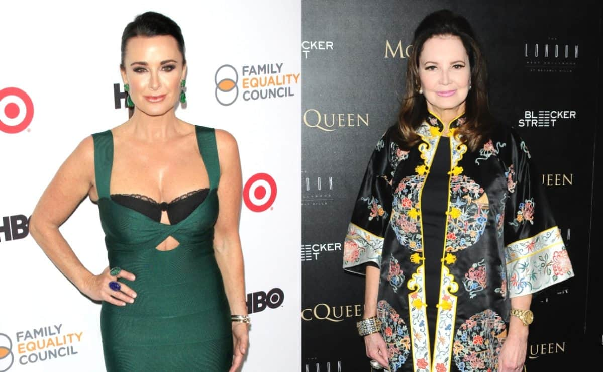 PHOTO: RHOBH's Kyle Richards Debuts Her Real Housewives-Themed Birkin Bag, Plus Southern Charm's Patricia Altschul Calls Out Dorit Kemsley Over Doggy Drama