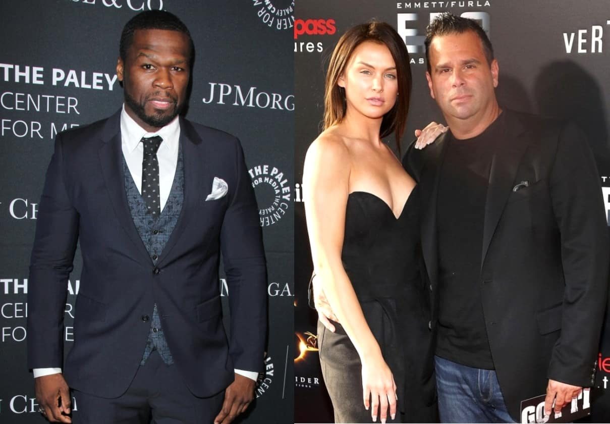 Rapper 50 Cent Throws Shade at Pal Randall Emmett's Relationship with Lala Kent! Implies Vanderpump Rules Star is a 'Gold Digger'