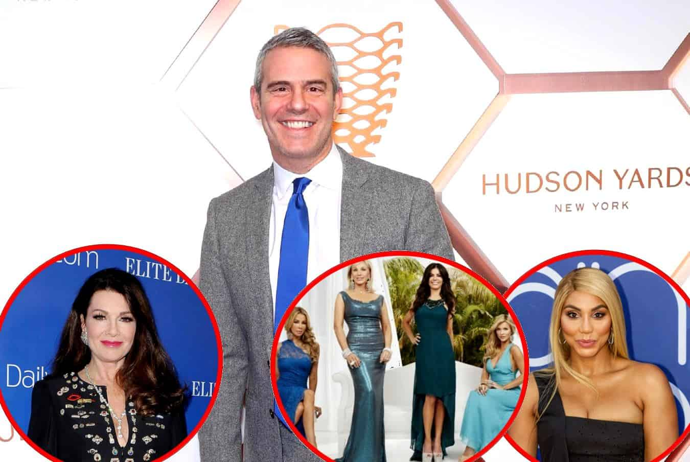 Does Andy Cohen Think Lisa Vanderpump Is Being Bullied by RHOBH Cast? Find Out, Plus He Reveals If RHOM Will Return and If Tamar Braxton Will Join RHOA