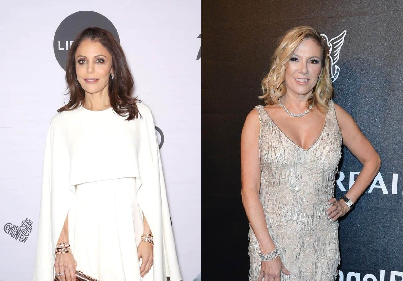 RHONY's Bethenny Frankel Reacts To Ramona Singer's 'Despicable' Comments About Her Dating Life After Dennis Shields