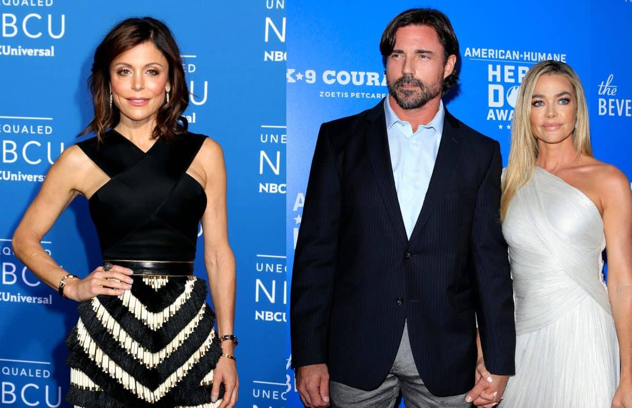 RHONY Star Bethenny Frankel Posts Raunchy Joke About Denise Richards' Husband Aaron