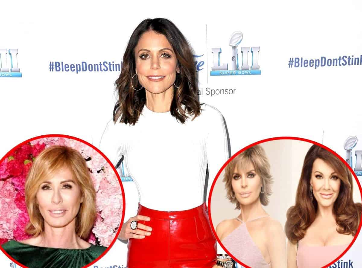 RHONY's Bethenny Frankel Discusses Recent Run-in with Carole Radziwill, Clarifies Comment About Lisa Rinna Trying to Take Down Lisa Vanderpump