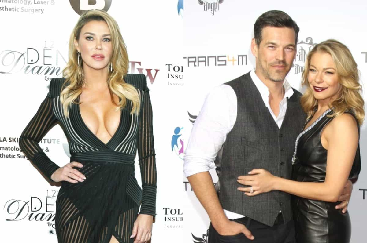 RHOBH's Brandi Glanville Still Struggling With Ex Eddie Cibrian and LeAnn Rimes' Relationship