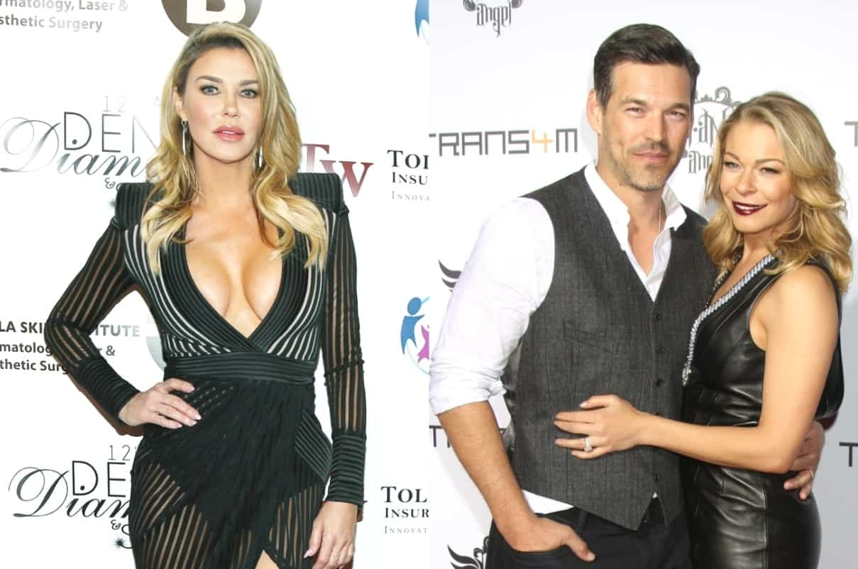 RHOBH's Brandi Glanville Shares Easter Photo Of Ex-Husband Eddie Cibrian And Son Jake As LeAnn Rimes Shares Her Own Pic Of Their 'Awkward' Family Celebration