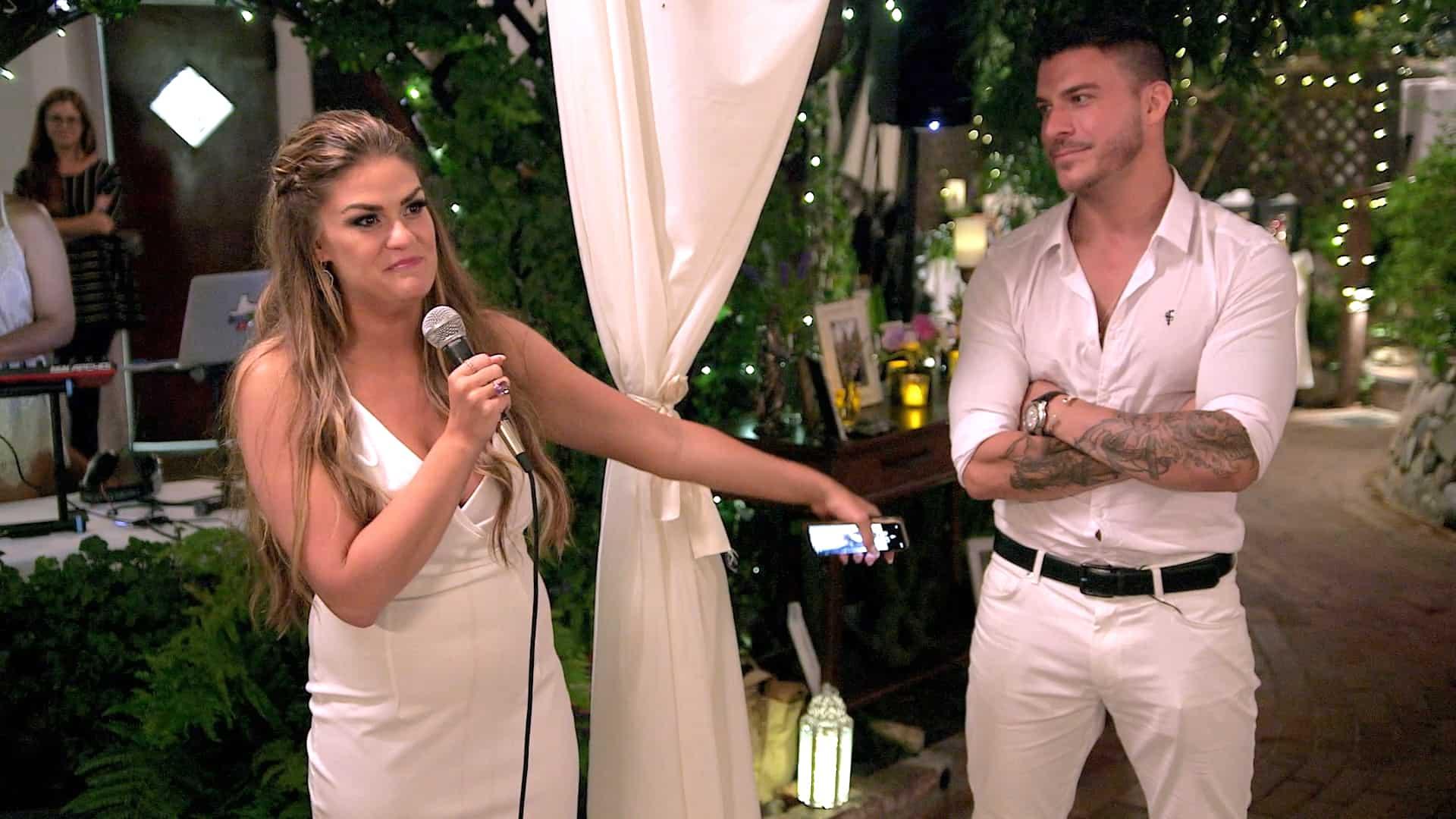 Vanderpump Rules Finale Recap Brittanny and Jax at engagement party