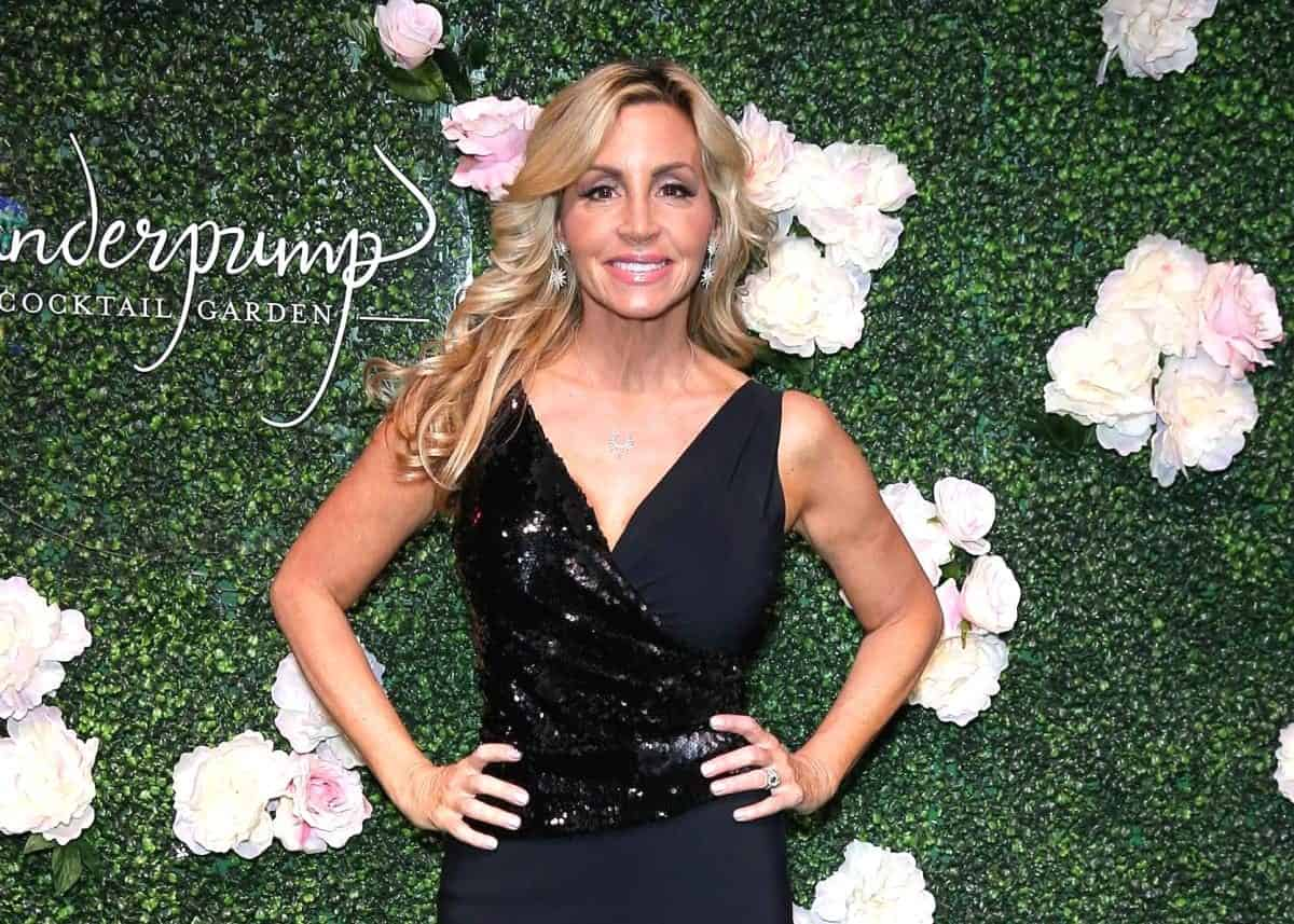 RHOBH's Camille Grammer Responds To Backlash Over Brett Kavanaugh Comments On Twitter,