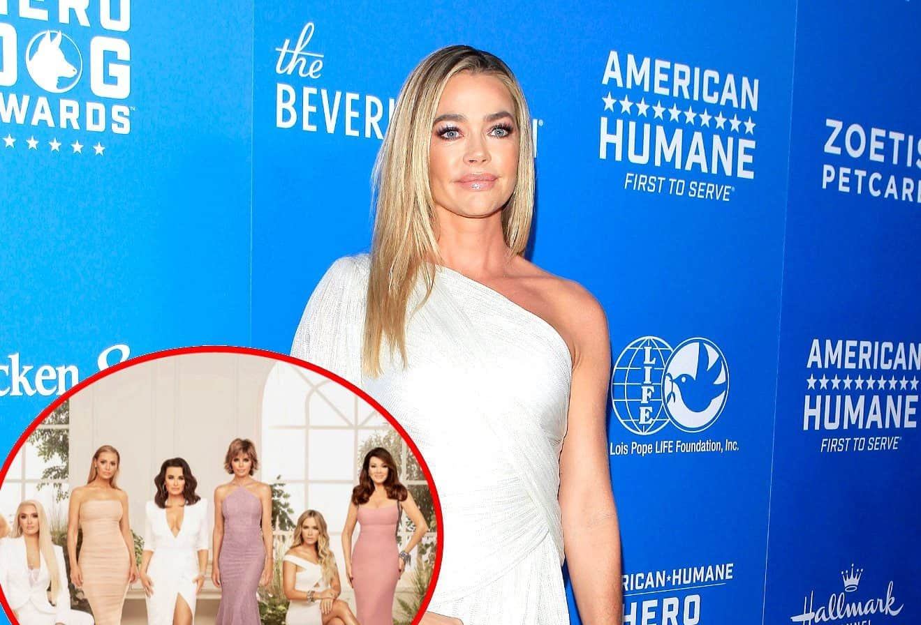 Did Denise Richards Skip the RHOBH Season 10 Finale Party? See Lisa Rinna's Cryptic Quote About the Truth Coming Out