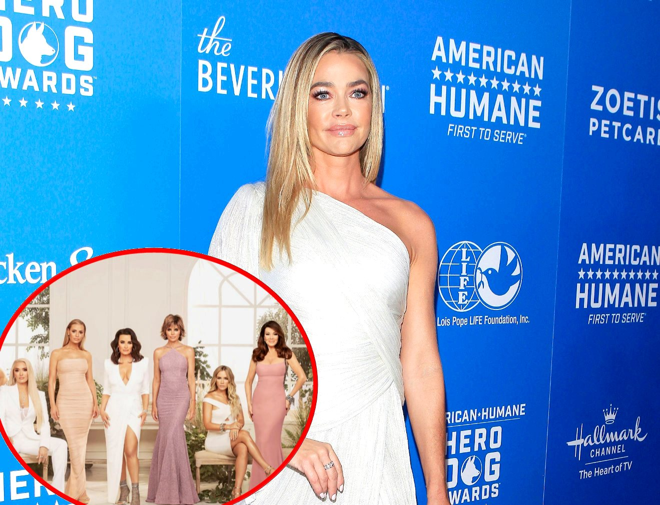 Denise Richards Reveals Which RHOBH Co-Star Acts Inauthentic, Plus She Explains Why Lisa Vanderpump Should Apologize for Puppy Gate