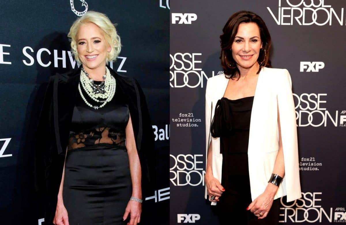 "RHONY's Dorinda Medley Slams Luann de Lesseps for ""Rude"" & ""Entitled"" Behavior, Luann Denies Acting Like a ""Diva"""