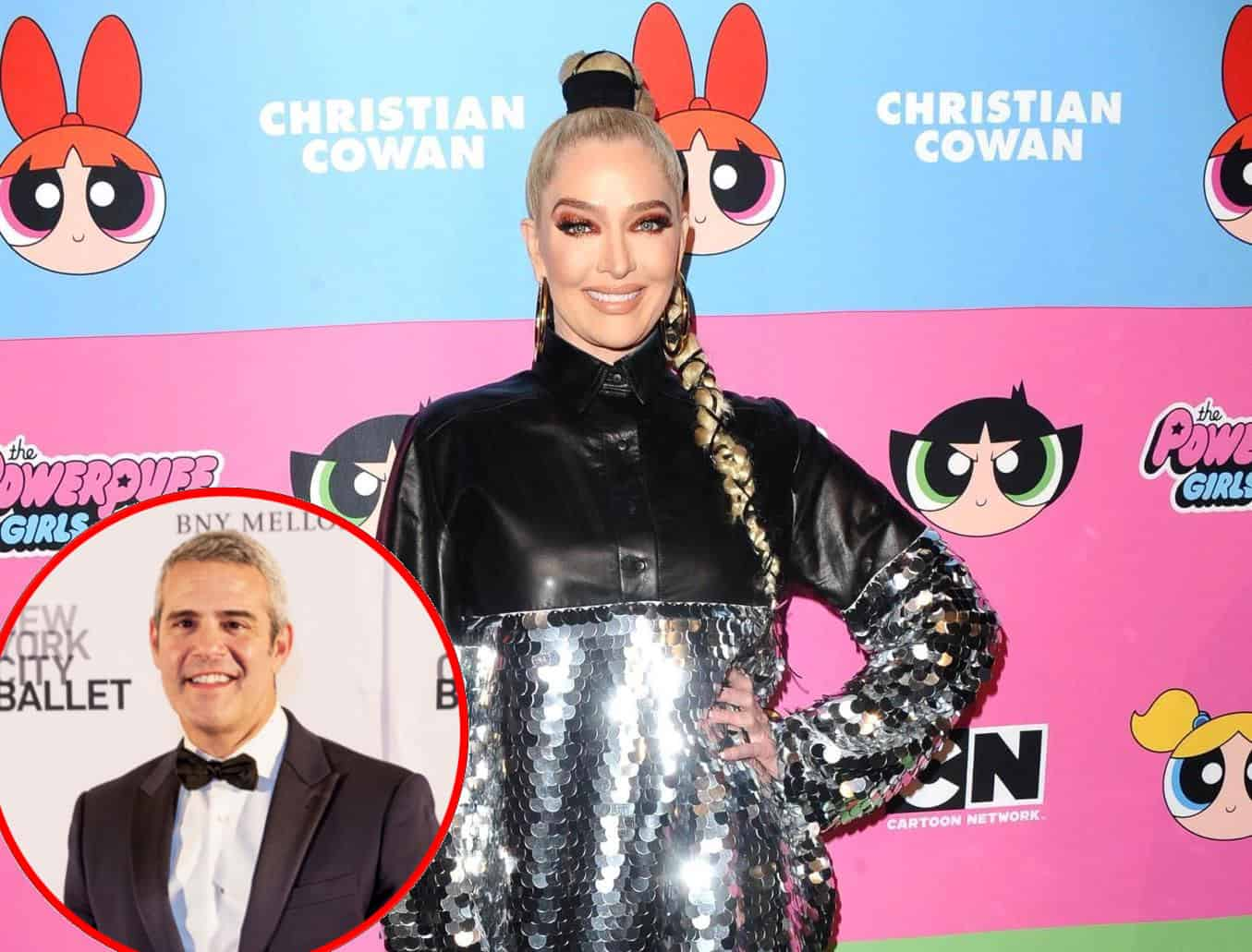 Erika Jayne Reveals the Insane Gift She Gave to Andy Cohen's Son! Plus She Explains How She Avoids Getting Fired from RHOBH