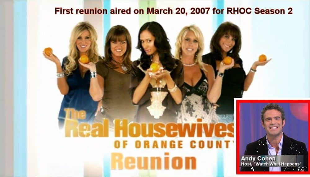 First Housewives Reunion for Real Housewives of Orange County Season 2