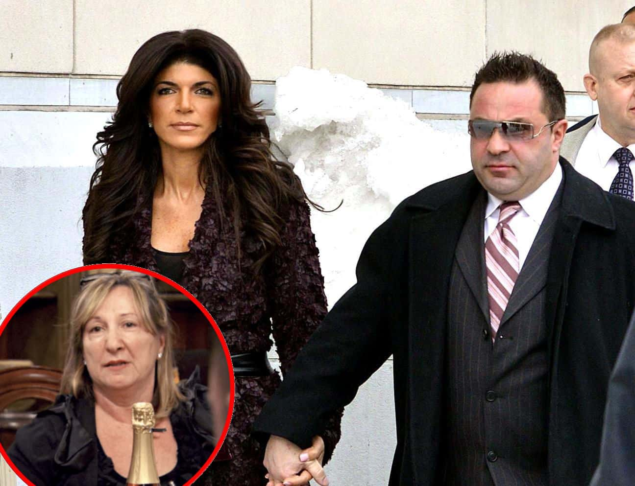 Joe Giudice's Mother Suffering as His Deportation Looms, RHONJ Cameras Capture Teresa's Response to Deportation News