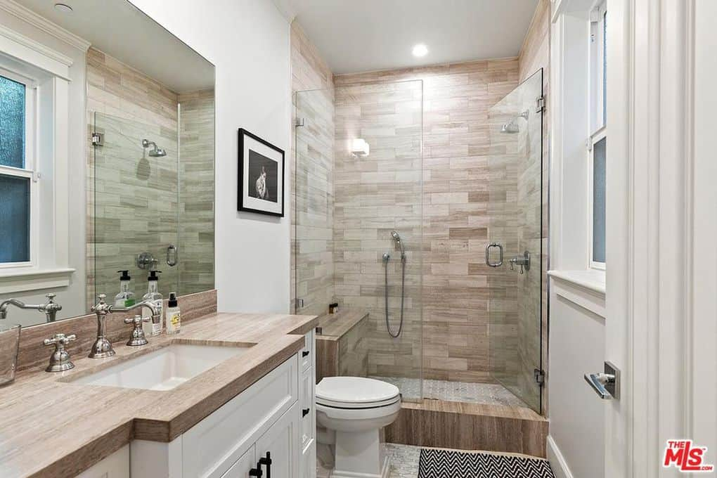 Katie Maloney and Tom Schwartz Home Guest Bathroom 2