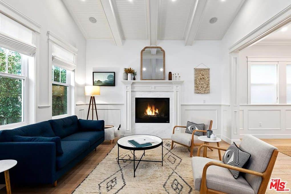 Katie Maloney and Tom Schwartz Home Living Room