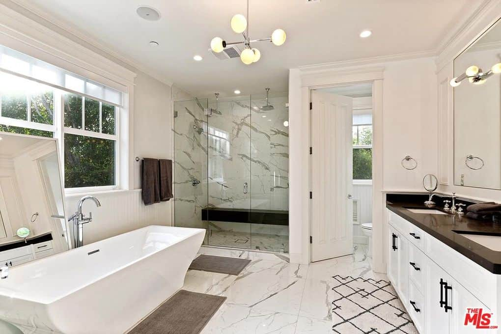 Katie Maloney and Tom Schwartz Home Master Bathroom