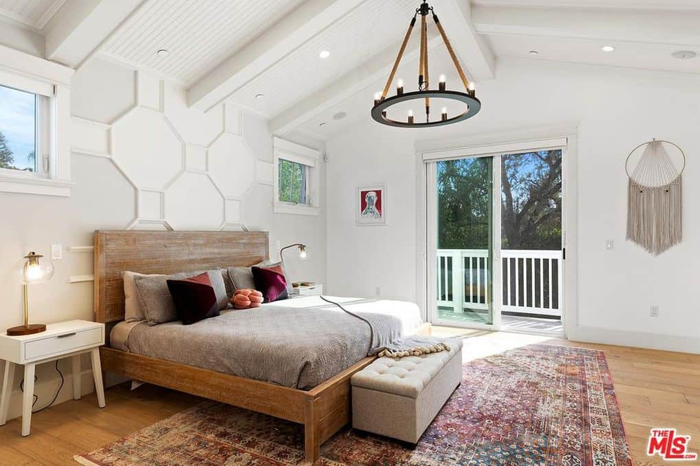 Katie Maloney and Tom Schwartz Home Master Bedroom