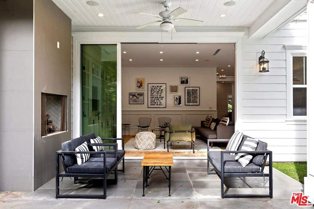 Katie Maloney and Tom Schwartz Home Outdoor Seating