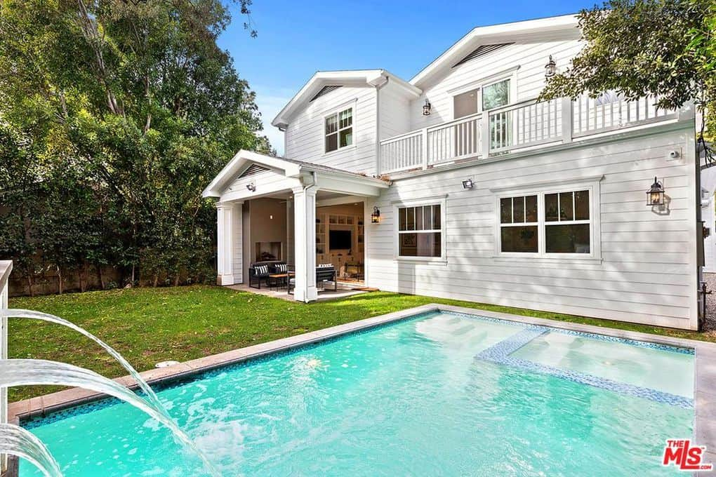 Katie Maloney and Tom Schwartz Home Pool 2