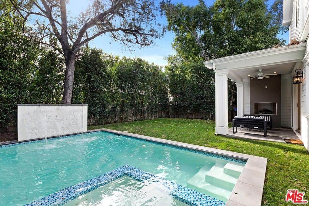 Katie Maloney and Tom Schwartz Home Pool