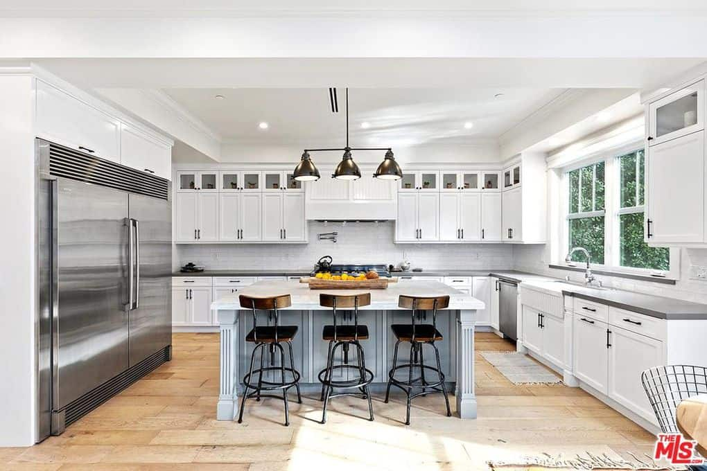 Katie Maloney and Tom Schwartz New Home Kitchen