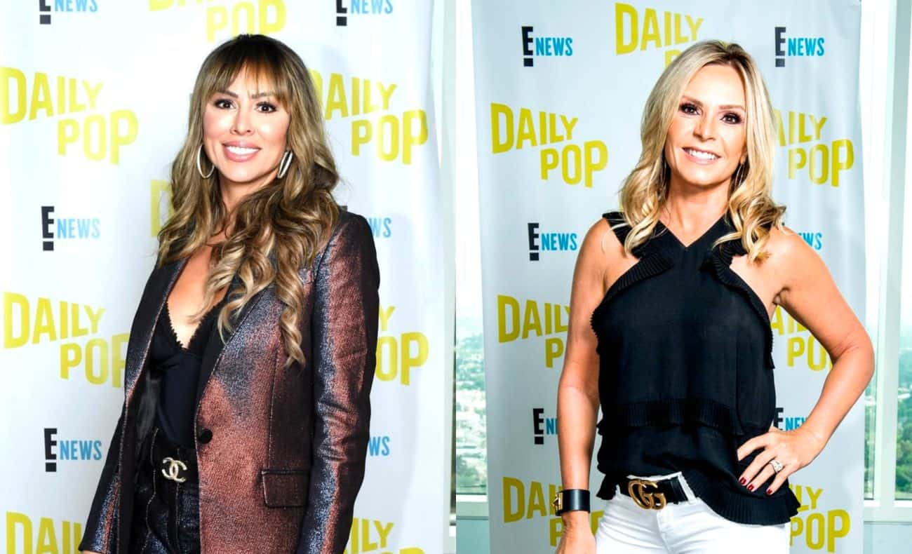 "RHOC's Kelly Dodd Accuses Tamra Judge of Intentionally Telling Vicki About Her Funeral Comment, See What Tamra's Saying About Her 'Loose Lips' as Kelly Says it Wasn't a ""Slip"""