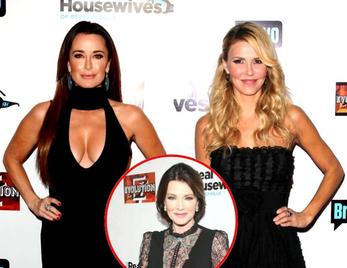RHOBH's Kyle Richards And Brandi Glanville Are Friends Again Thanks To Lisa Vanderpump 'Bringing Them Back Together,' Plus Will Brandi Return To The Show?