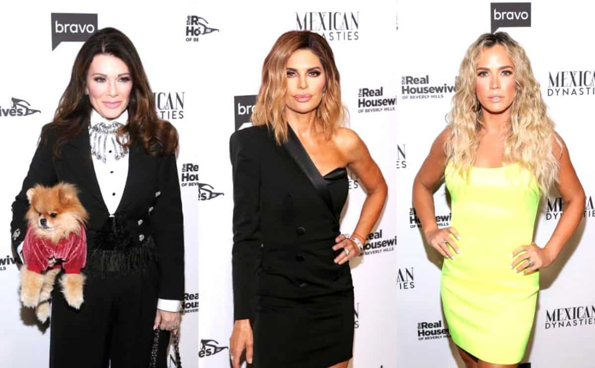 RHOBH's Lisa Vanderpump Accuses Lisa Rinna of Lying as Teddi Mellencamp Labels Lisa V. a 'Mean Girl' for Comparing the Cast to 'Pigs'
