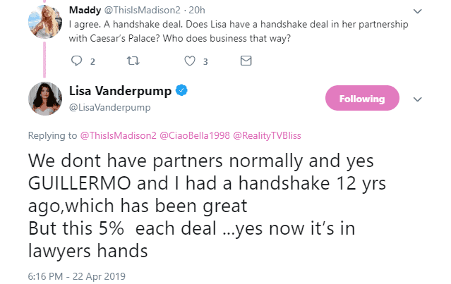 Lisa Vanderpump responds to Ariana Madix criticism about TomTom Deal