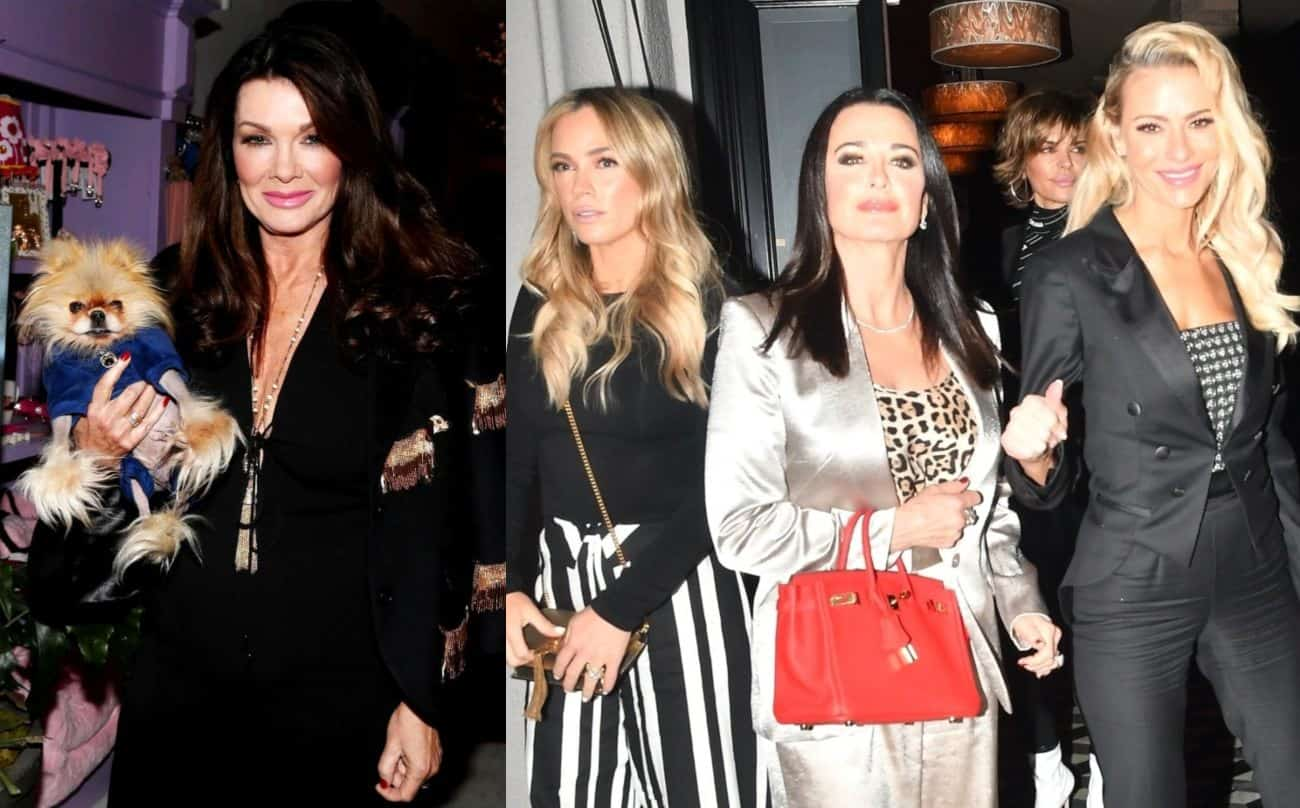 Lisa Vanderpump Reveals RHOBH Costars' 'Secret Meeting' that Caused Her to Stop Filming with Them, Talks Blocking Kyle