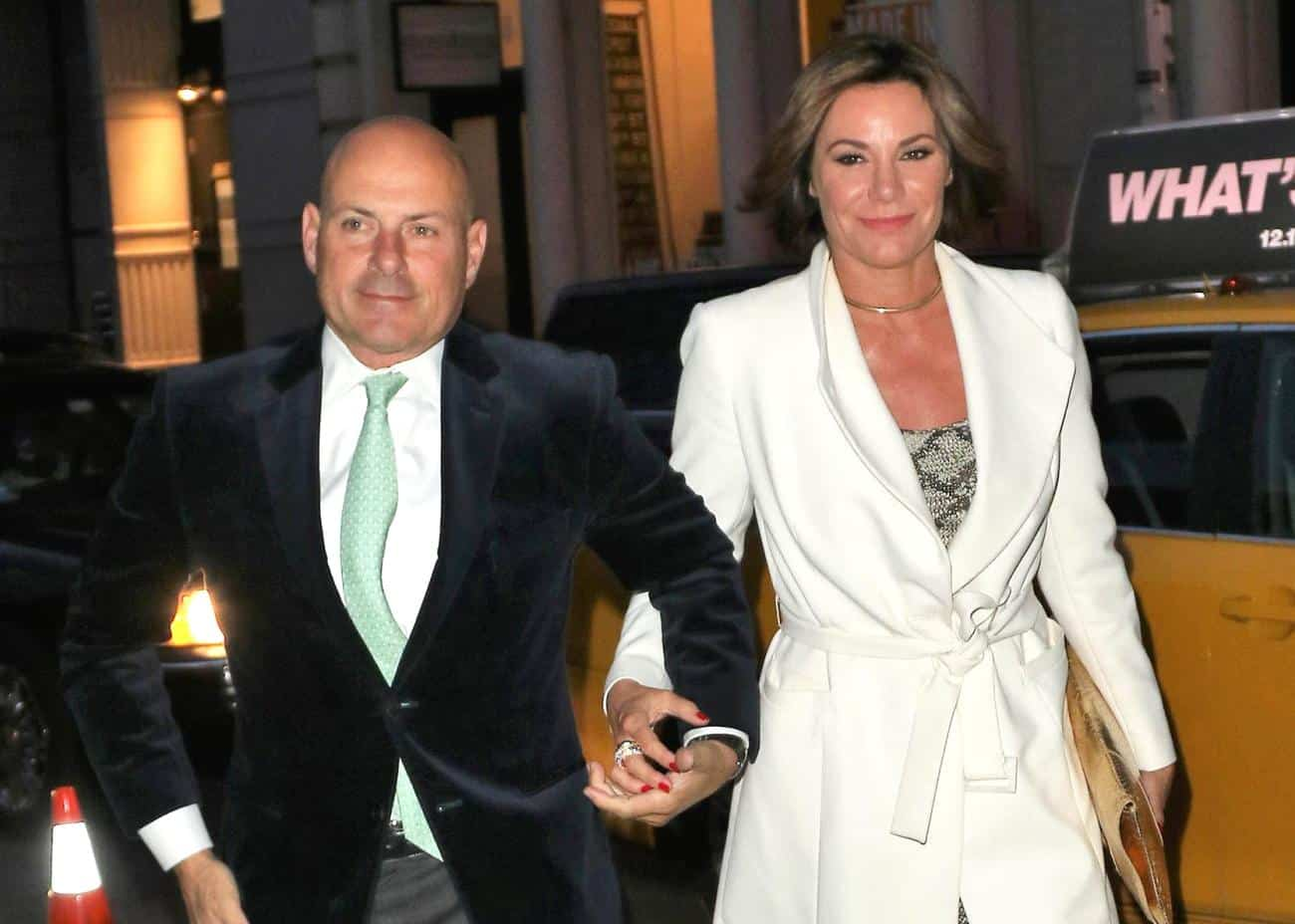 RHONY Star LuAnn de Lesseps Responds After Ex-Husband Tom D'Agostino Jr Accuses Her of Cheating