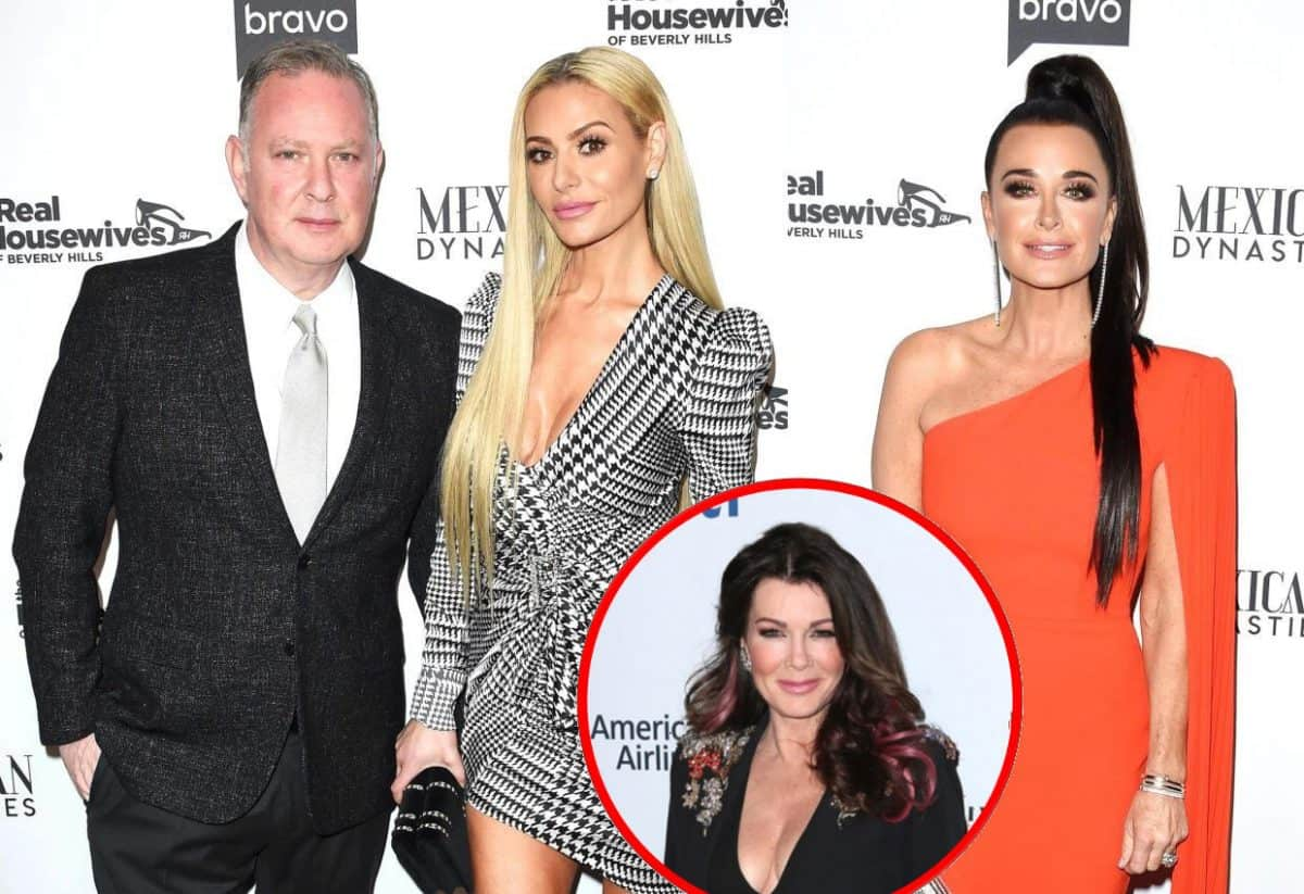 RHOBH Star Paul 'PK' Kemsley Throws Shade at Kyle Richards Over Her Drama with Lisa Vanderpump, Plus Lisa Responds to Lisa Rinna's Shade and RHOBH Live Viewing Thread!