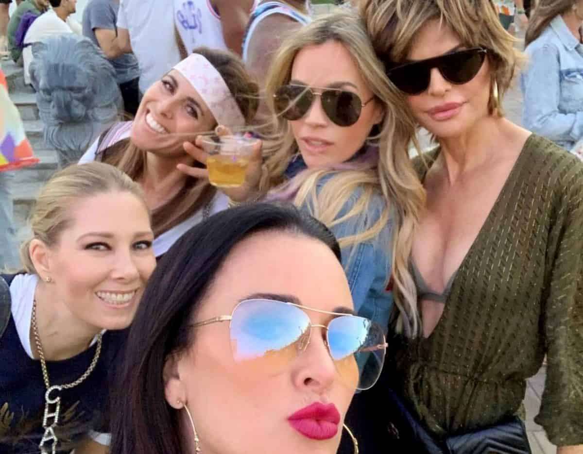 PHOTOS: RHOBH's Kyle Richards, Lisa Rinna and Teddi Mellencamp Attend Coachella and Face Claims of Being 'Too Old,' See How Kyle Clapped Back!