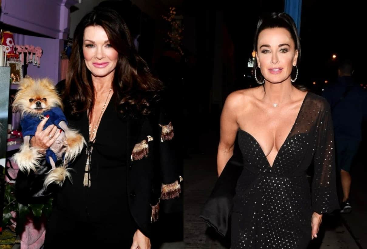 REPORT: RHOBH Alum Lisa Vanderpump Sends $132 Dinner Bill to Kyle Richards' Table at L.A. Restaurant, Find Out If She Paid It!