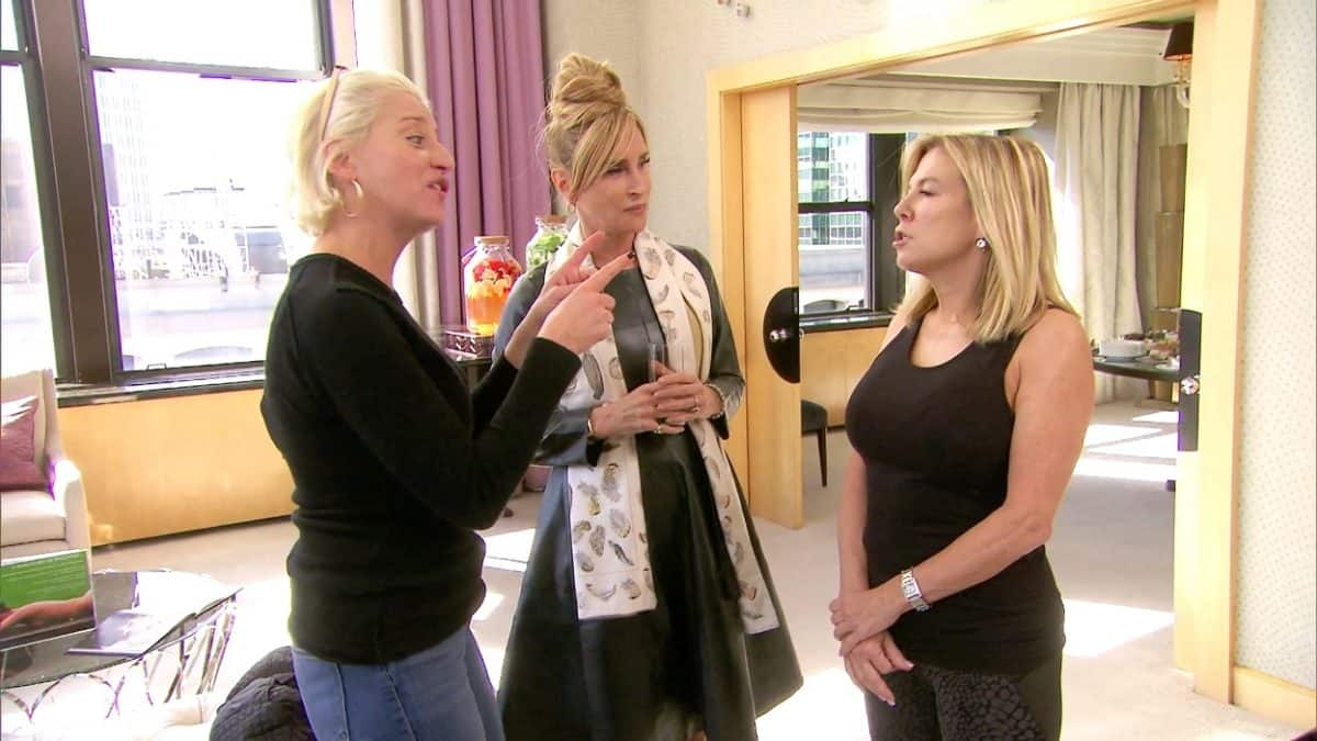 The Real Housewives of New York Recap: Dorinda Accuses Ramona of Lying About Table Hopping at Event