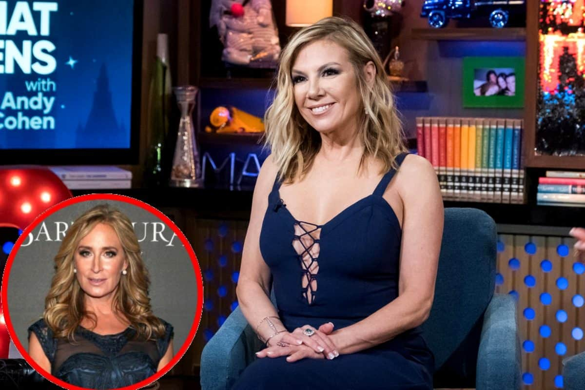 RHONY's Ramona Singer Reacts To Sonja's 'Disturbing' Meltdown Over The Morgan Family Letters
