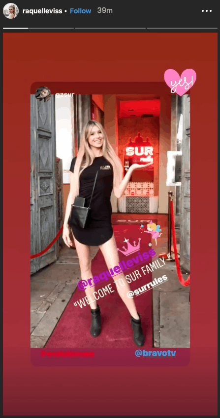 Vanderpump Rules' Raquel Leviss Hired At SUR Restaurant
