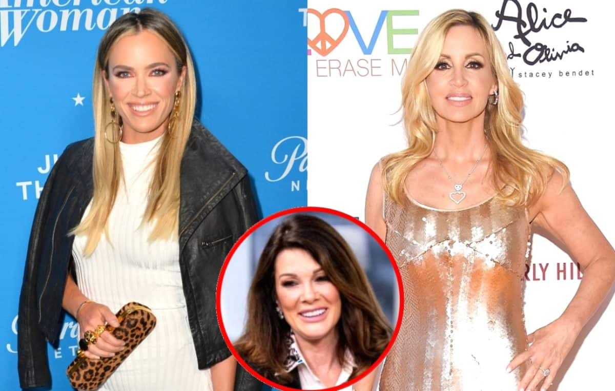 RHOBH's Teddi Mellencamp Says Camille Grammer's Comments About Lisa Vanderpump Were 'Much Worse,' Camille Responds