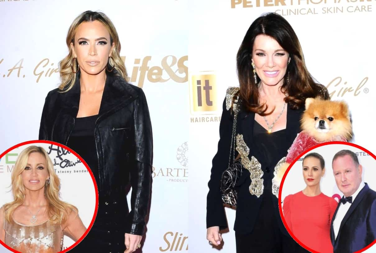 RHOBH's Teddi Mellencamp Questions Why Lisa Vanderpump Quickly Forgave Camille for 'Teeth' Comments, Defends PK Regarding Comments to Kyle