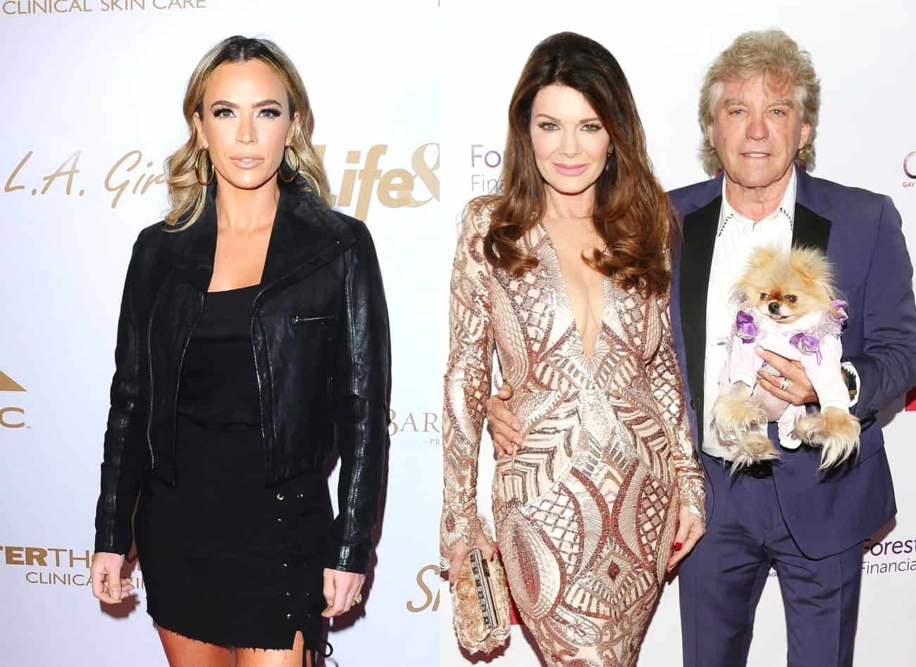 RHOBH's Teddi Mellencamp Implies Lisa Vanderpump Doesn't Truly Care About Dogs, Calls Out Ken Todd For His Aggressive Behavior Towards Kyle Richards