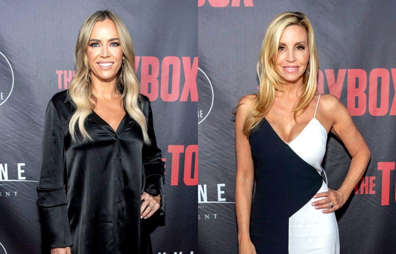 RHOBH Star Teddi Mellencamp Says She Regrets Going to Camille Grammer's Wedding, Slams Camille For Calling Her a 'Know It All'
