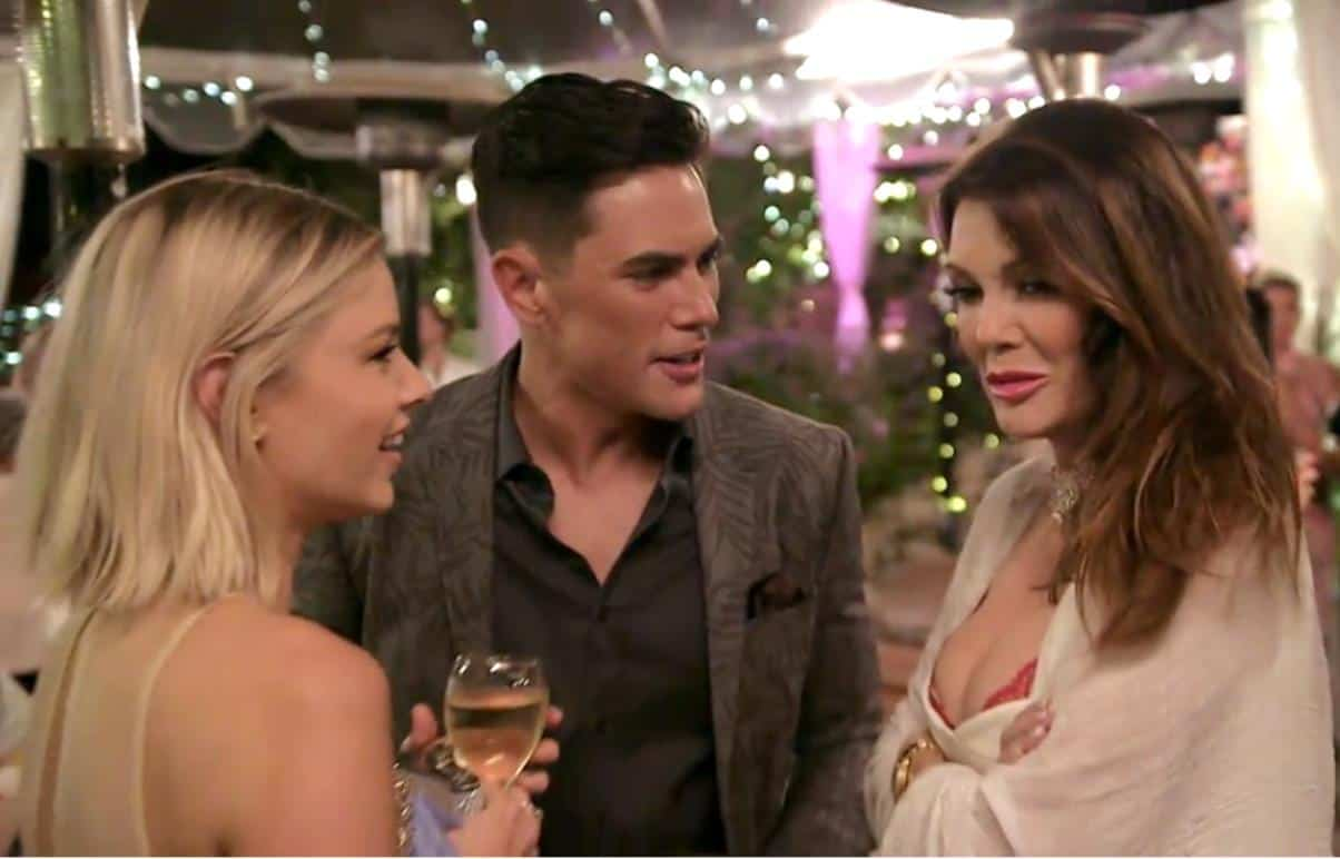 Vanderpump Rules Season Finale Recap : Ariana Confronts Lisa Over Toms Issue During Brittany and Jax's Engagement Party