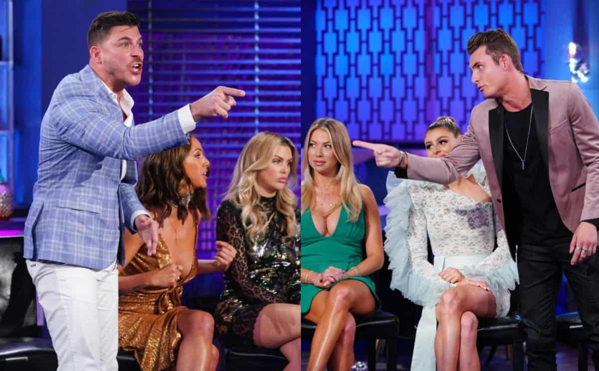 Vanderpump Rules Season 7 Reunion Trailer Jax Taylor and James Kennedy